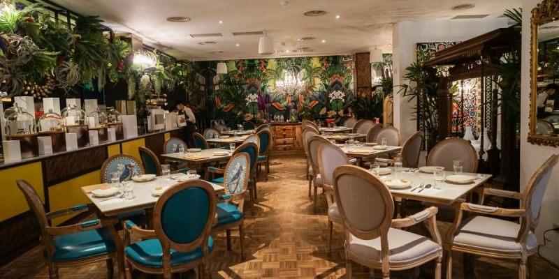 Woo Taiwan 員林店|員林泰國餐廳,來自清邁的異國風情,在叢林植物裡享受浪漫用餐氛圍。