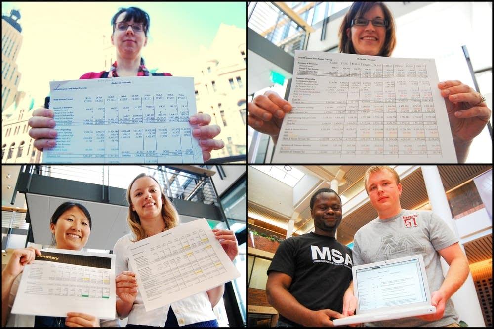 U students\u0027 final project balance the state budget MPR News - budgets for students
