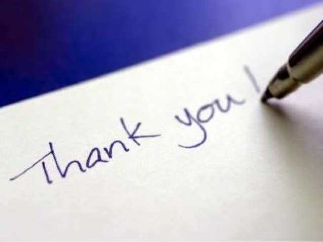 930 Coffee Break National Thank You Note Day The Current