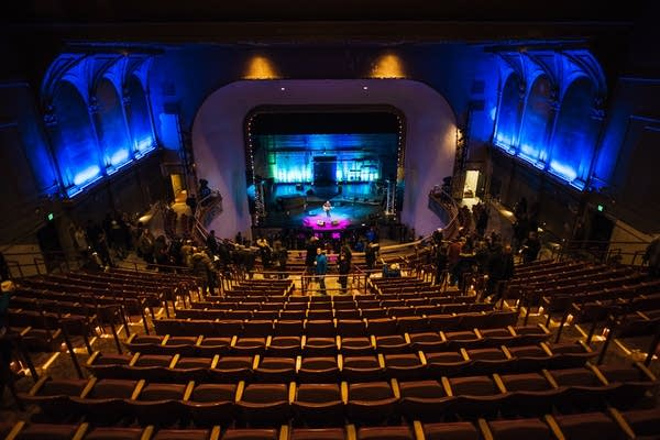 Photos St Paul reopens Palace Theatre as a music venue MPR News