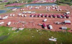 Diverting Storm Damage At An Rv Park North Baby Dozens Hurt When Tornado Hits North Dakota City Mpr News North Dakota Landscape Art North Dakota Landscape Photographers