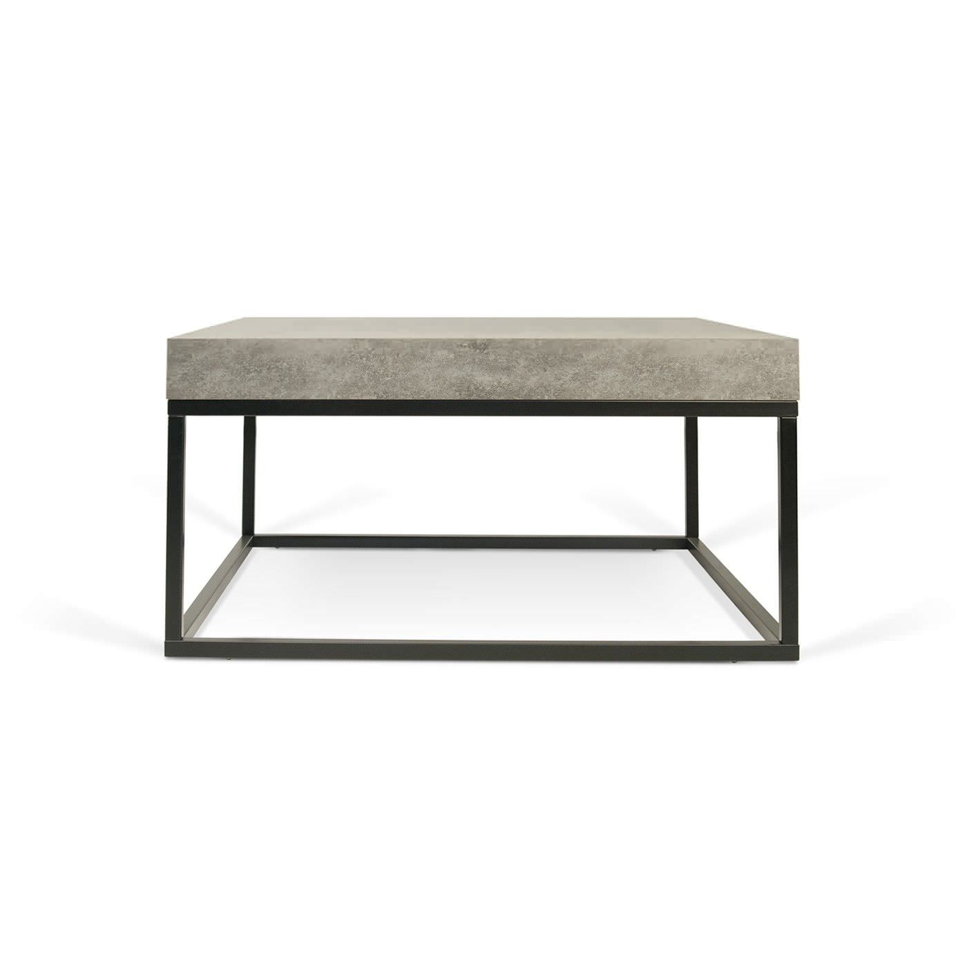 Couchtisch Ricardo Contemporary Coffee Table Metal Concrete Melamine