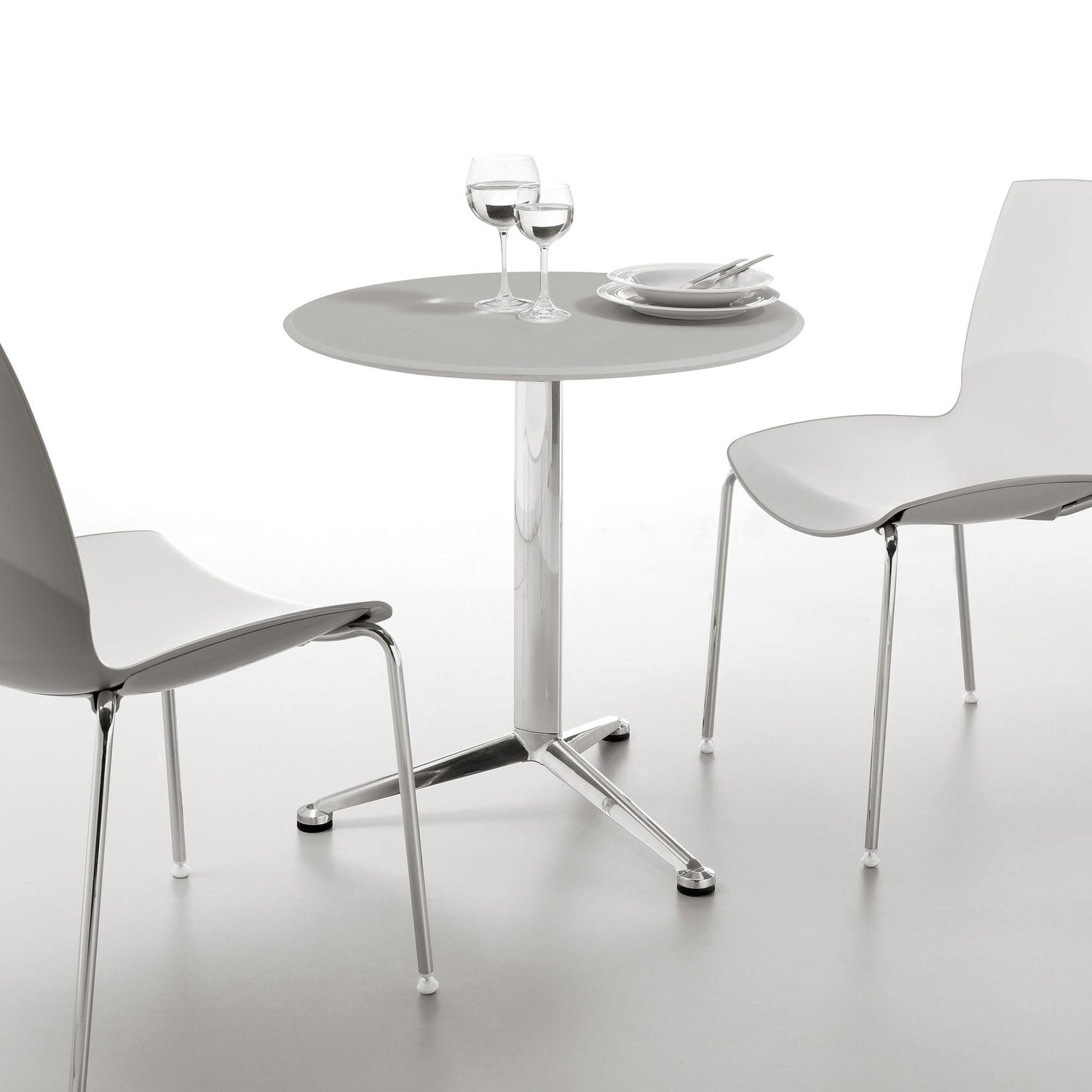 Table Polypropylène Contemporary Table Polypropylene Mdf Laminate 3 Pod By