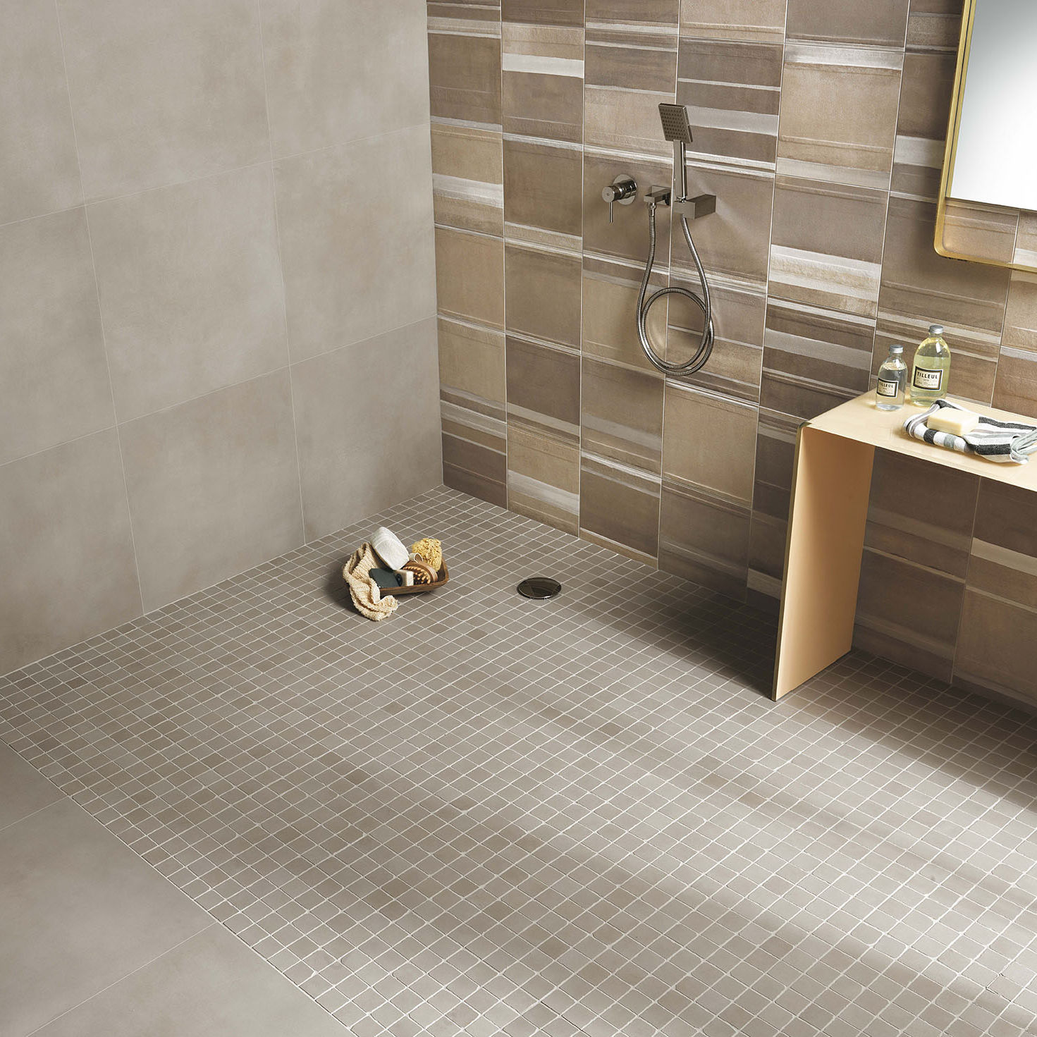 Bagno Tiles Indoor Tile Floor Porcelain Stoneware Square Milano
