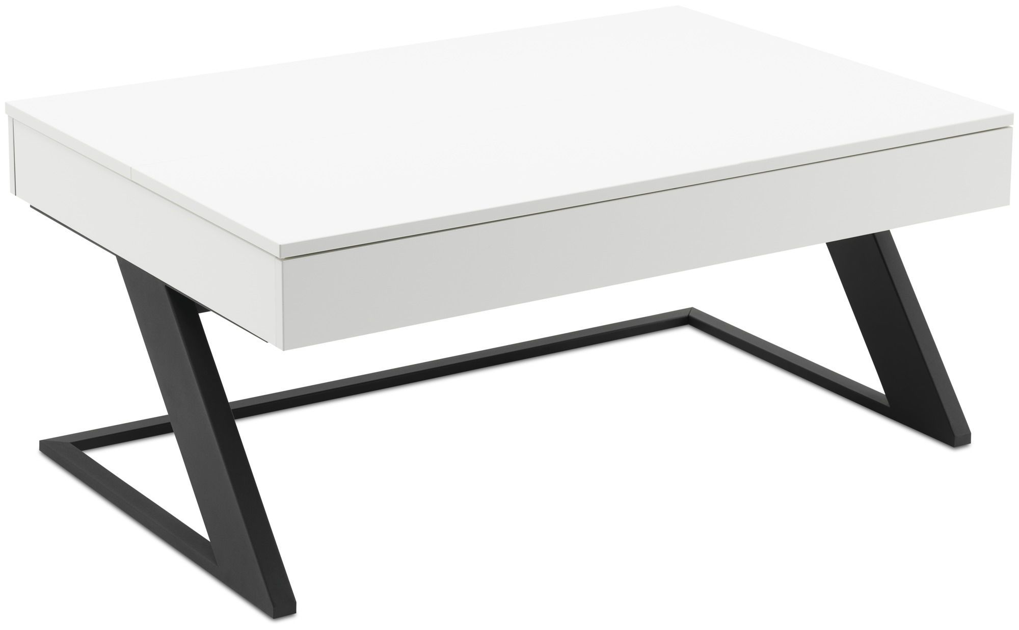 Contemporary Coffee Table Granville Boconcept Mdf Steel Rectangular