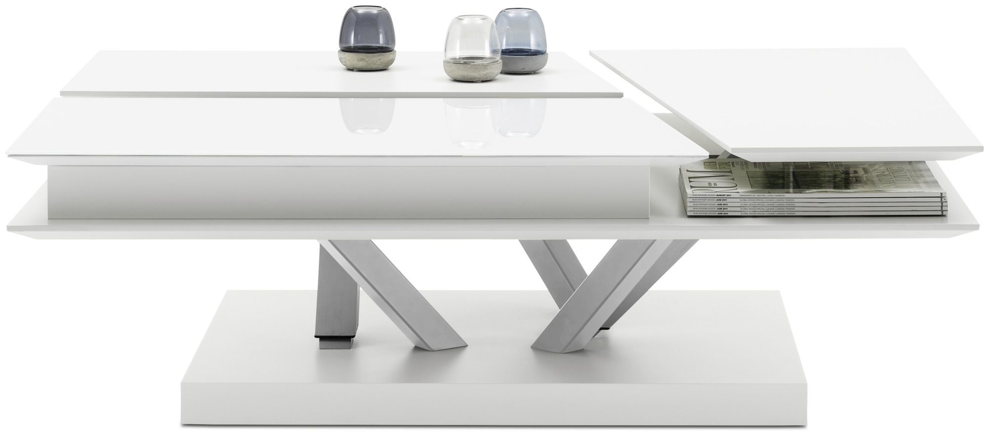 Contemporary Coffee Table Barcelona Boconcept Glass Mdf Rectangular