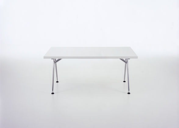 Contemporary Conference Table Metal Rectangular - Vitra Click Table