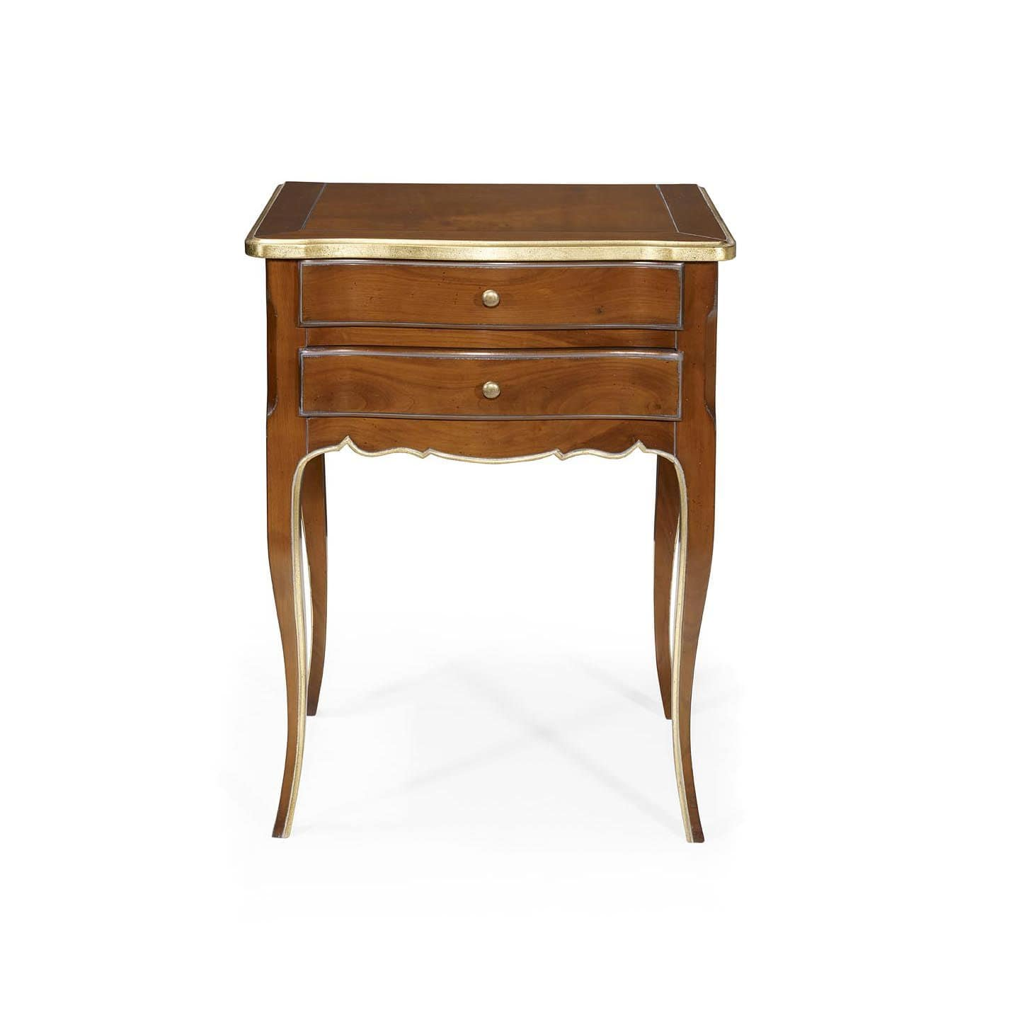 Oak Bedside Tables French Style Bedside Table Oak Mahogany Leather Gautier