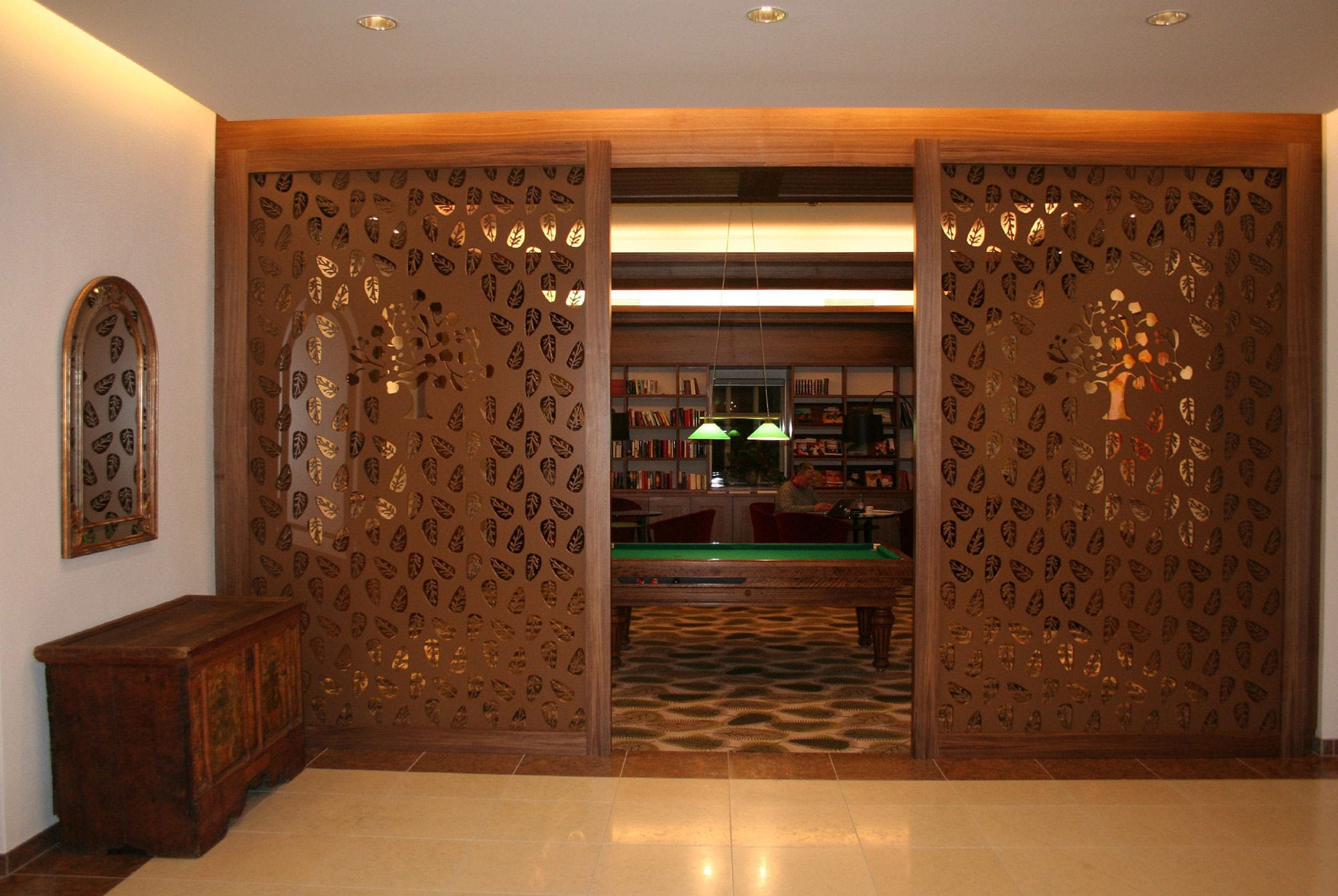Mdf 22mm Mdf Decorative Panel For Partition Walls Perforated