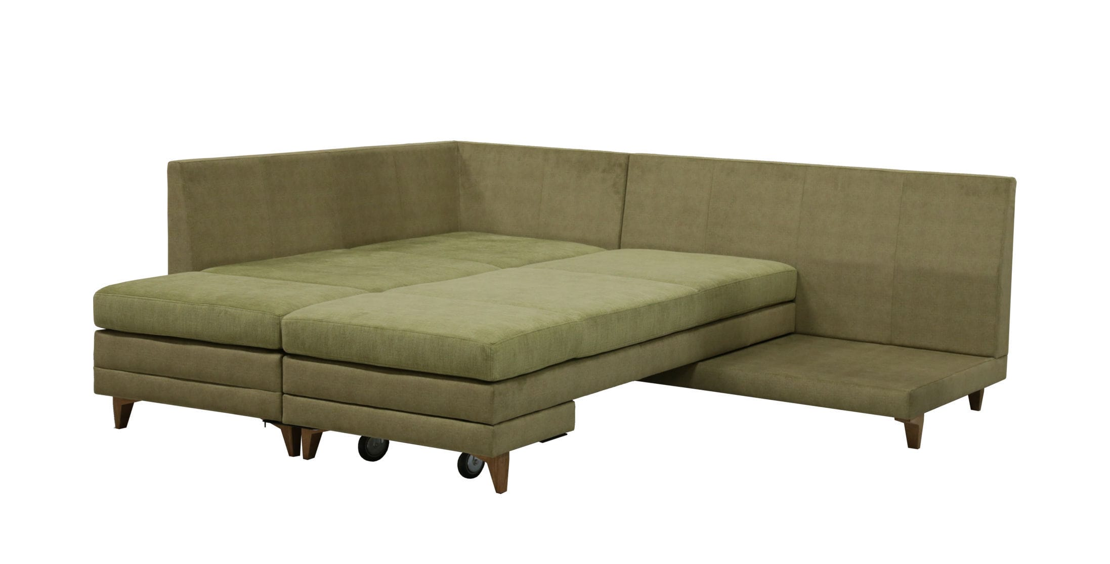 Sofa Test Corner Sofa Bed Contemporary Leather Curry Luonto Furniture