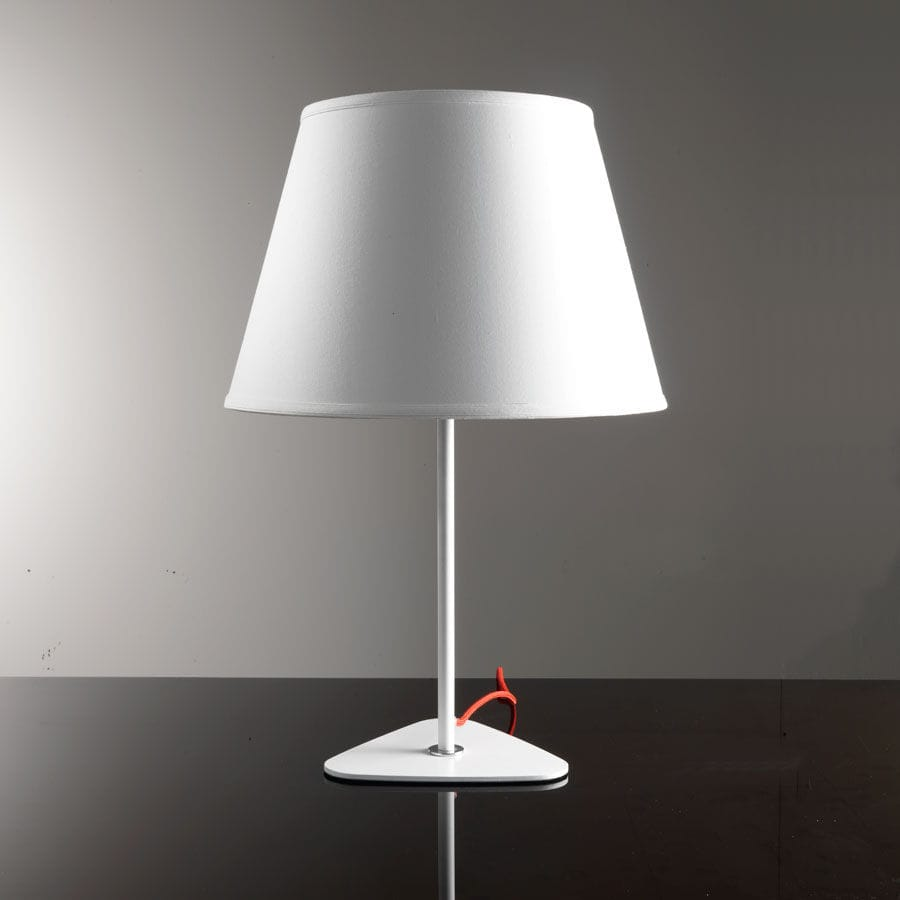 Luminaire Blanc Table Lamp Contemporary Fabric Steel Luminaire Blanche