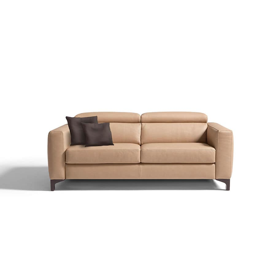 Altea 120 Sofa Sofa Bed Contemporary Fabric Leather Madelyn Egoitaliano