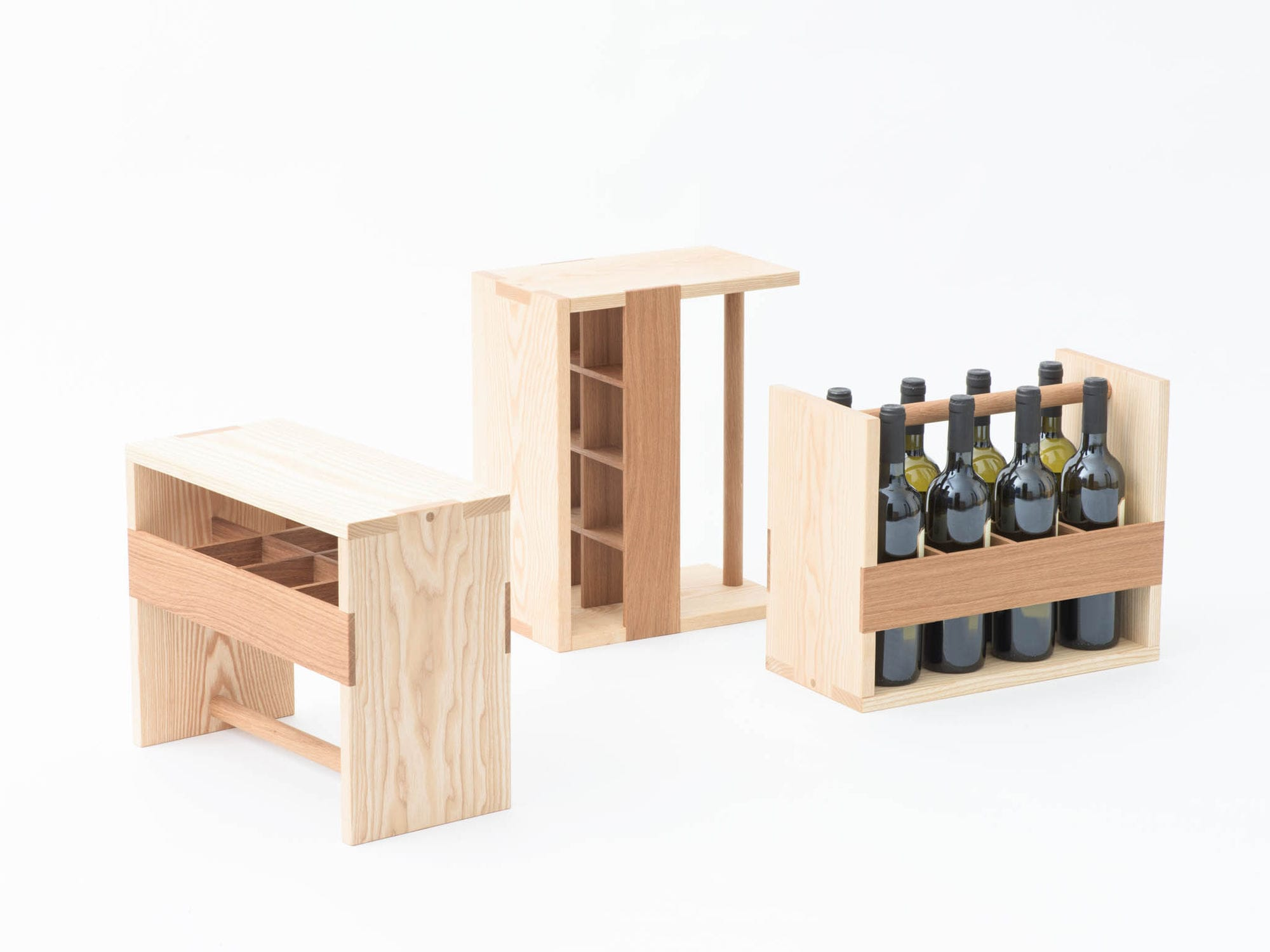 Wooden Bottle Rack Wooden Bottle Rack Auerberg