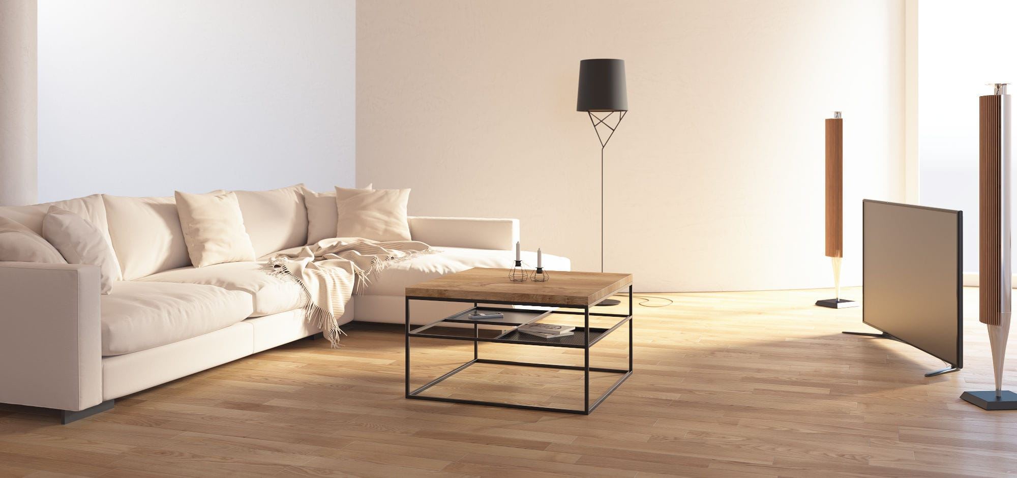 Couchtisch Metallbeine Contemporary Coffee Table Oak Lacquered Wood Mdf