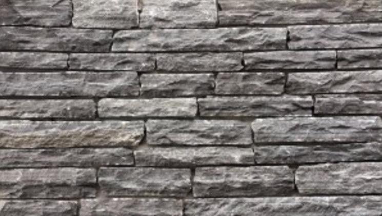 Stone wall cladding / outdoor / textured / decorative - LEDGESTONE