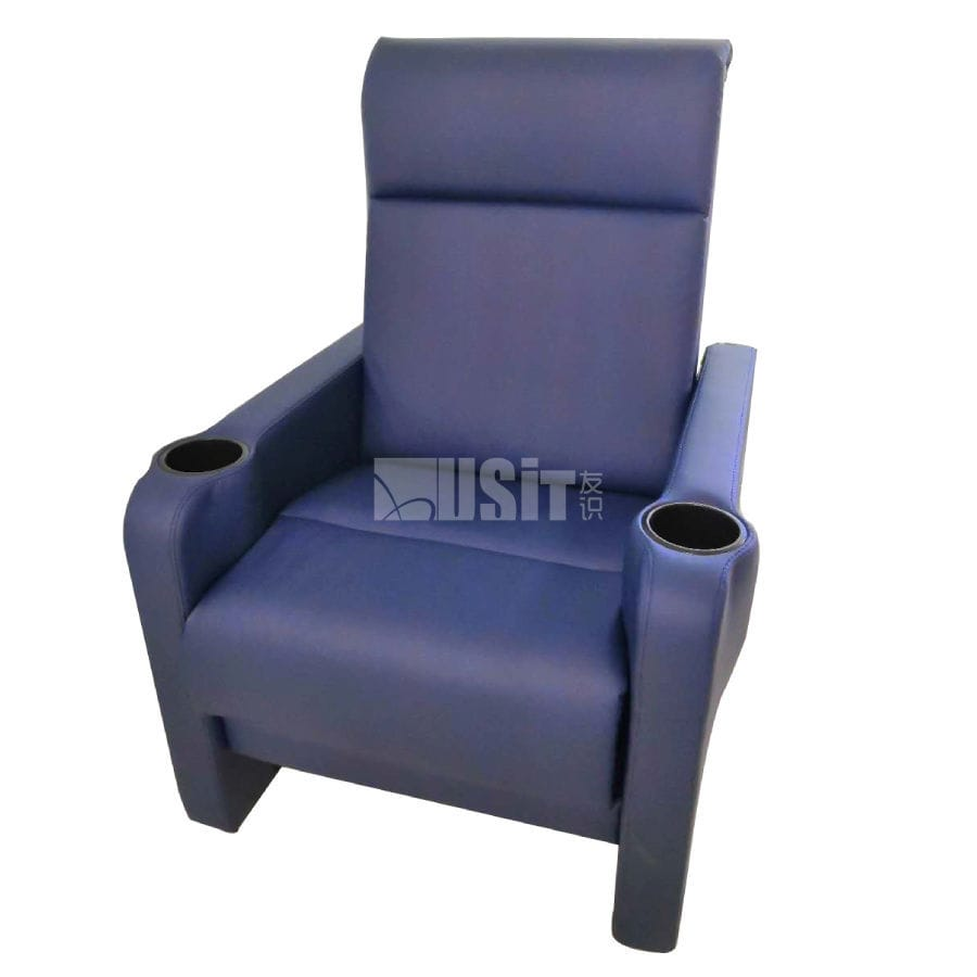 Fabric Cinema Seating Uv 818a Usit Seating Leather With Headrest Home Cinema