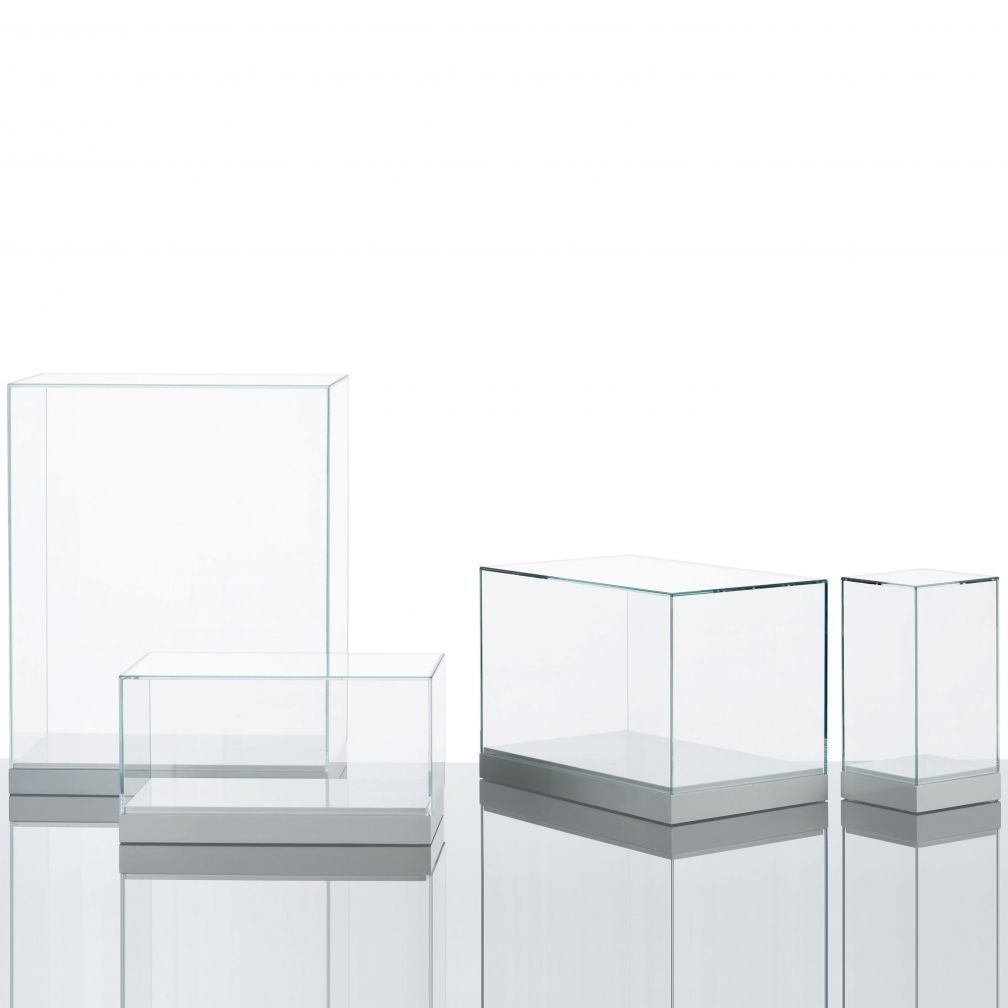Display Glas Contemporary Display Case Glass Lacquered Wood Teche Glas