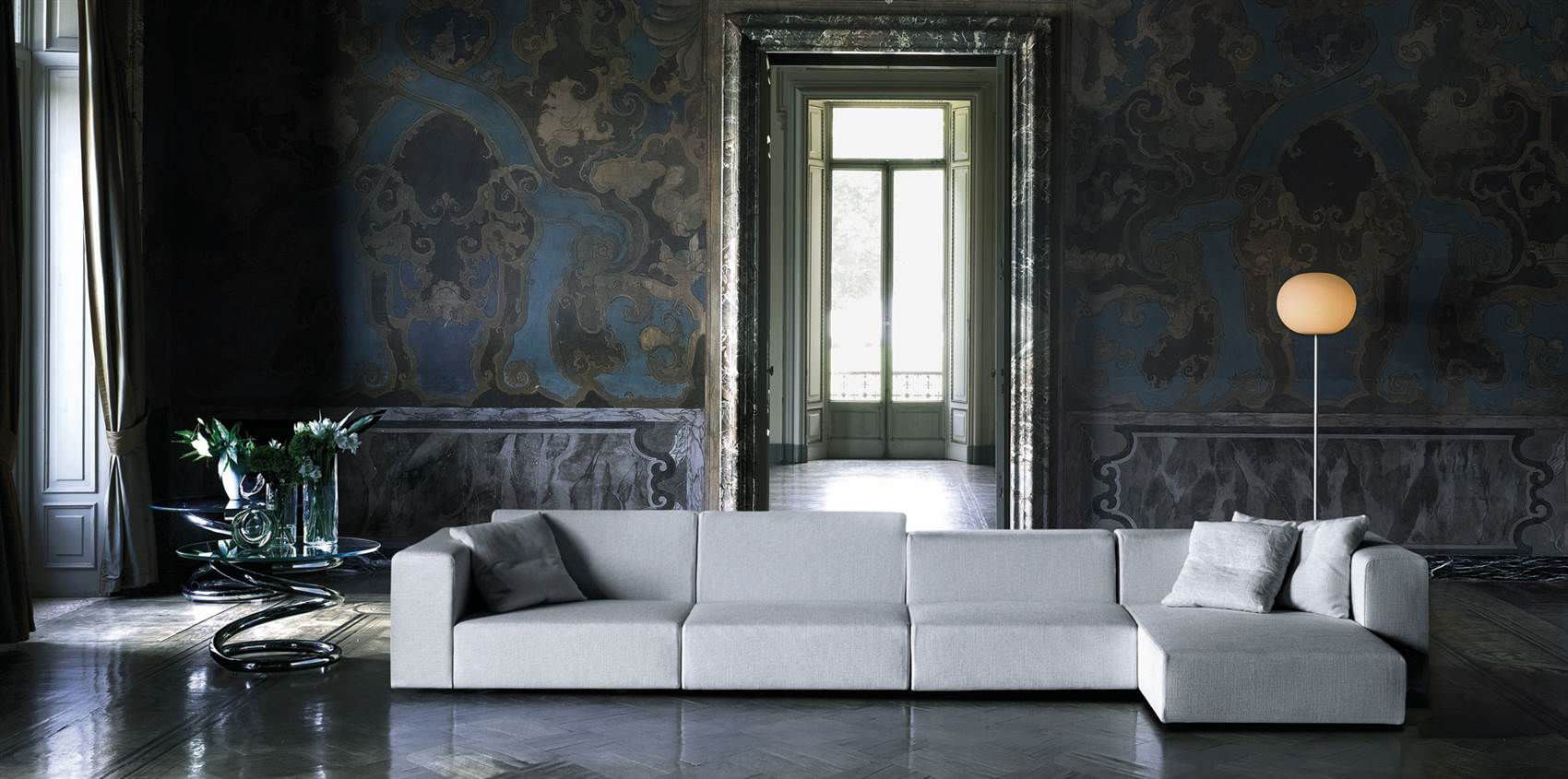 Piero Lissoni Modular Sofa Modular Sofa Contemporary By Piero Lissoni 4 Seater Wall