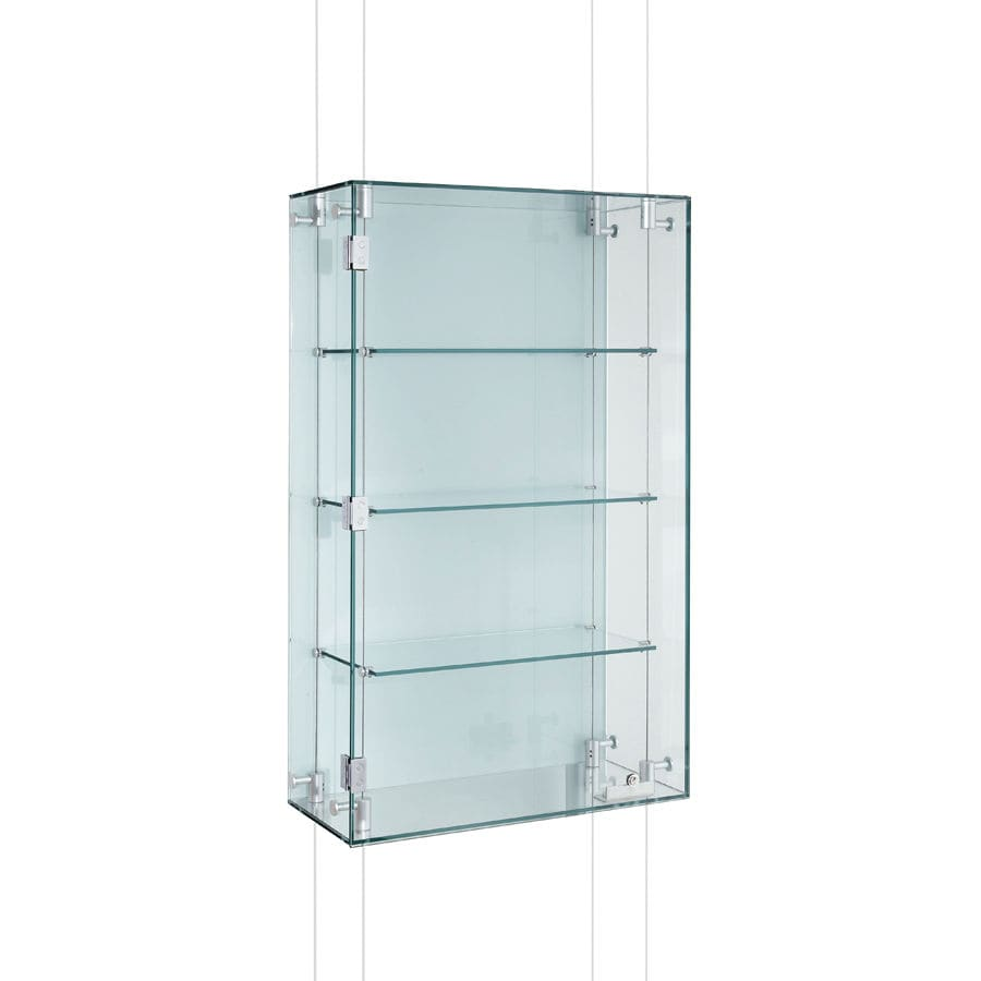 Wall Mounted Display Case Contemporary Display Case Wall Mounted Glass Aluminum