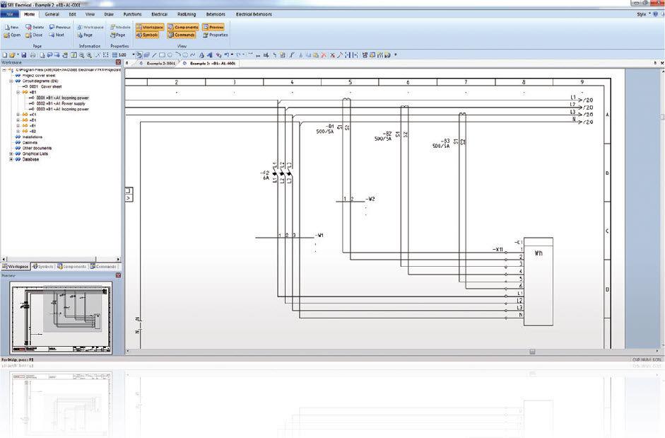 3d Electrical Plan Schematic Diagram Electronic Schematic Diagram