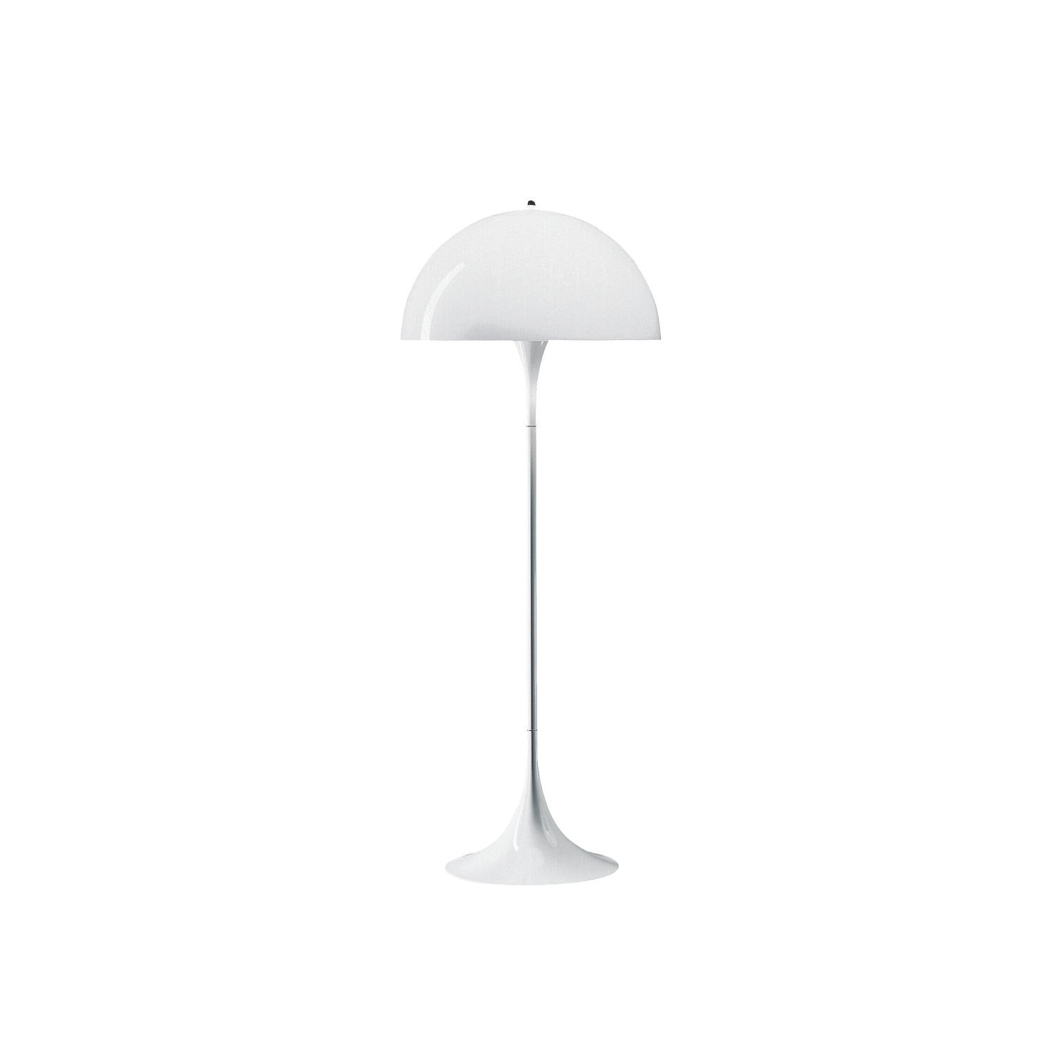 Floor Standing Lamp Panthella Louis Poulsen Acrylic Abs Steel