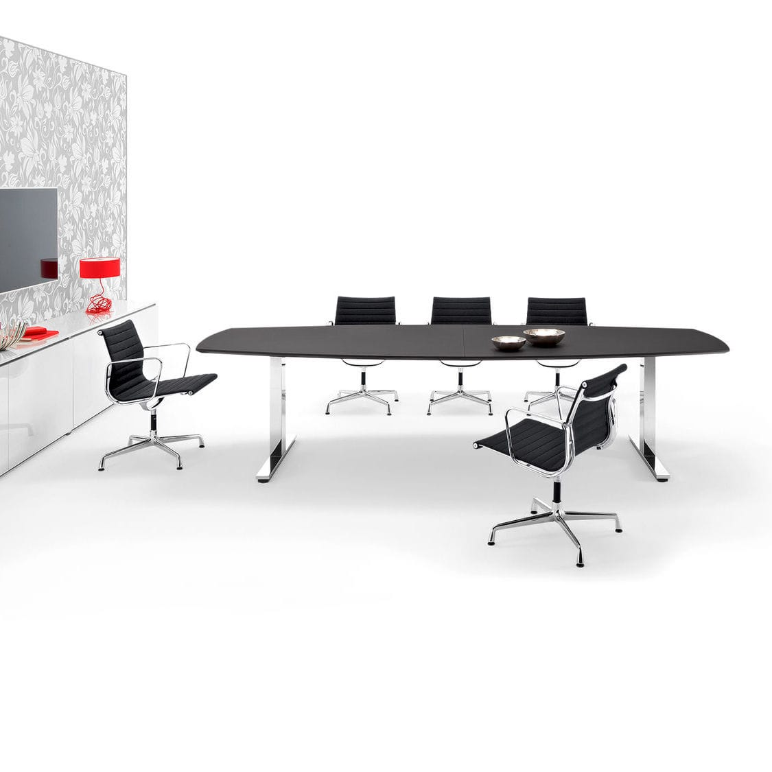 Team 1 Büromöbel Contemporary Boardroom Table Metal Mdf Wood Veneer Winea Pro Wini Büromöbel Georg Schmidt Gmbh Co Kg