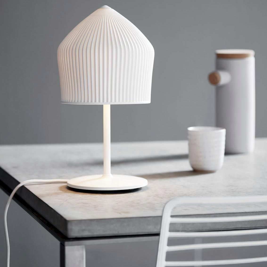Table Lamp Reykjavik Nordlux Metal Porcelain Contemporary