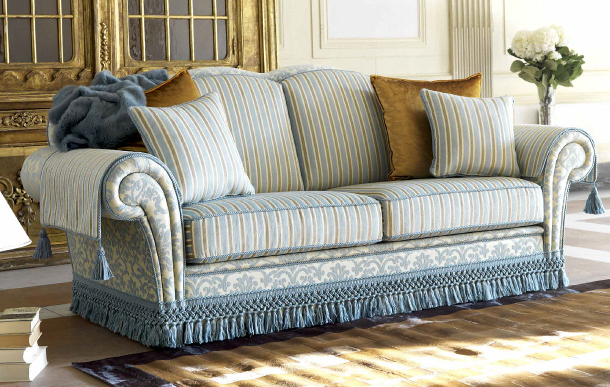 Jual Sofa Online Jakarta Traditional Sofa Cottage Style Cotton 2 Person Arthur