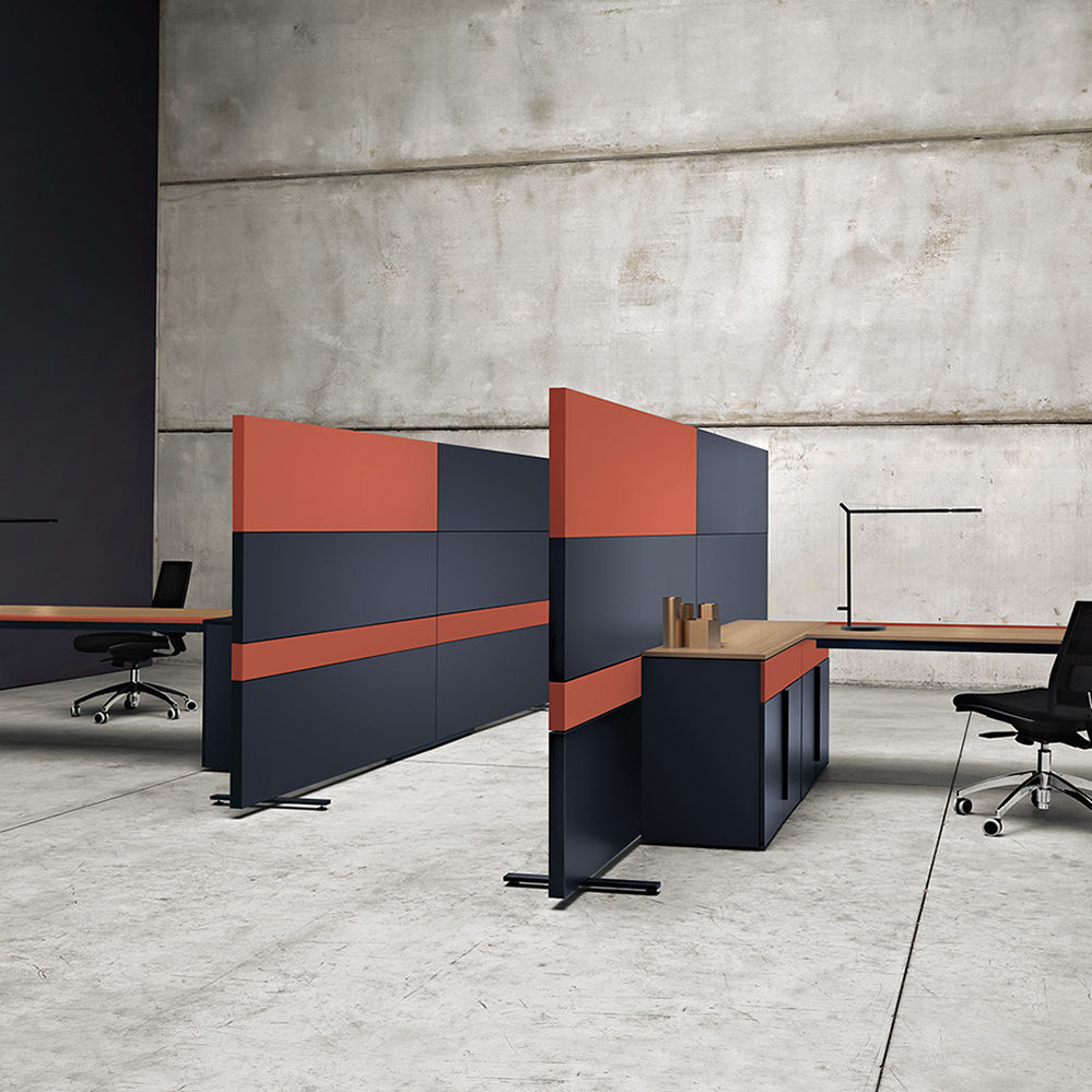 Flexible Trennwände Removable Partition Laminate For Offices Acoustic K Word