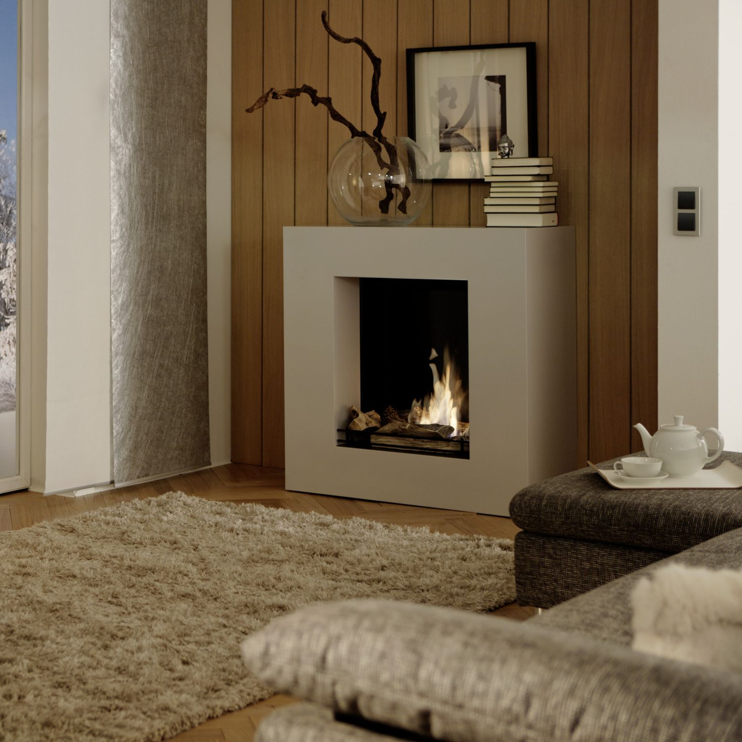 Ethanol Kamin Ingolstadt Bioethanol Fireplace Contemporary Open Hearth Central Caminetti Cube Alpha Linea Kamin Design Gmbh Co Kg Ingolstadt