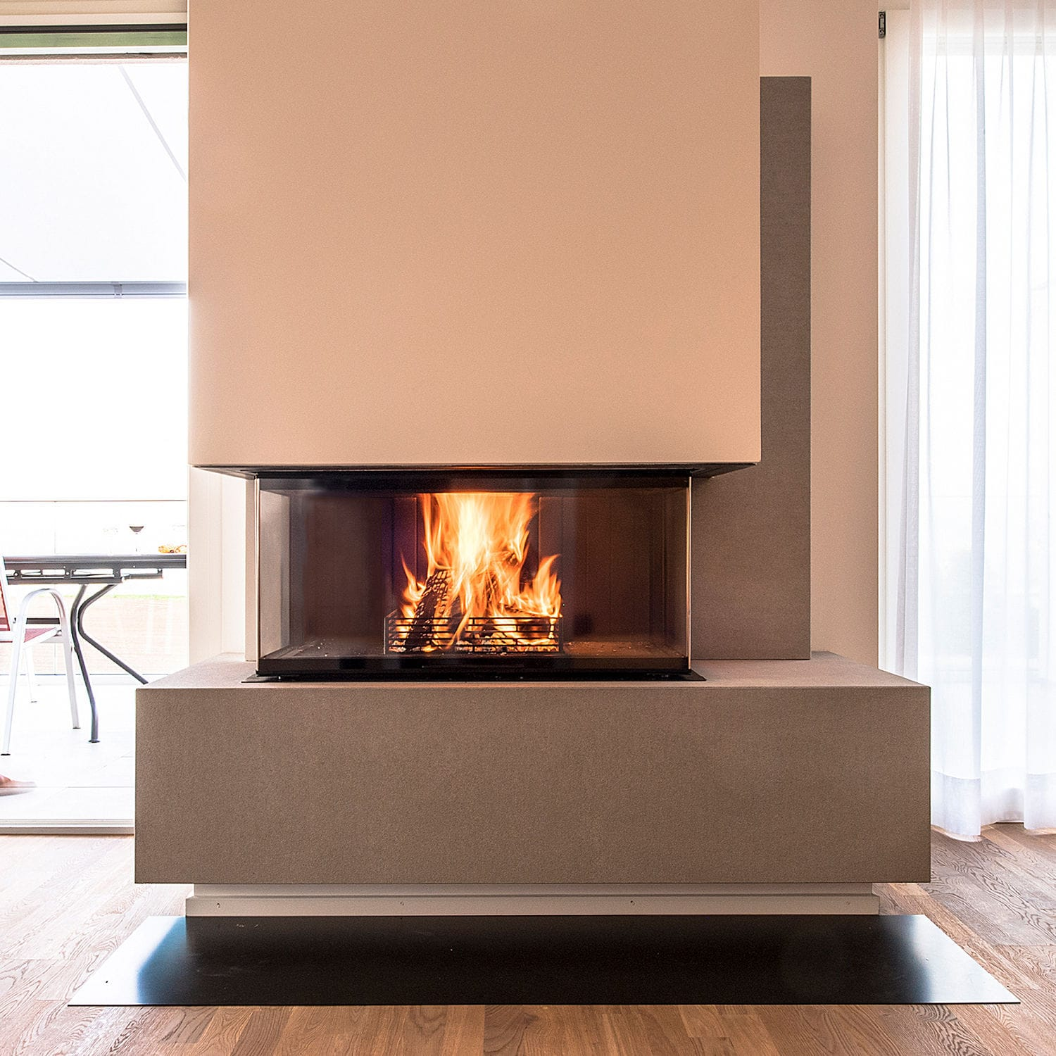 Running Gas Line To Fireplace Wood Burning Fireplace Contemporary Closed Hearth 3 Sided Flex Line RÜegg Riii Rüegg Cheminée Schweiz Ag