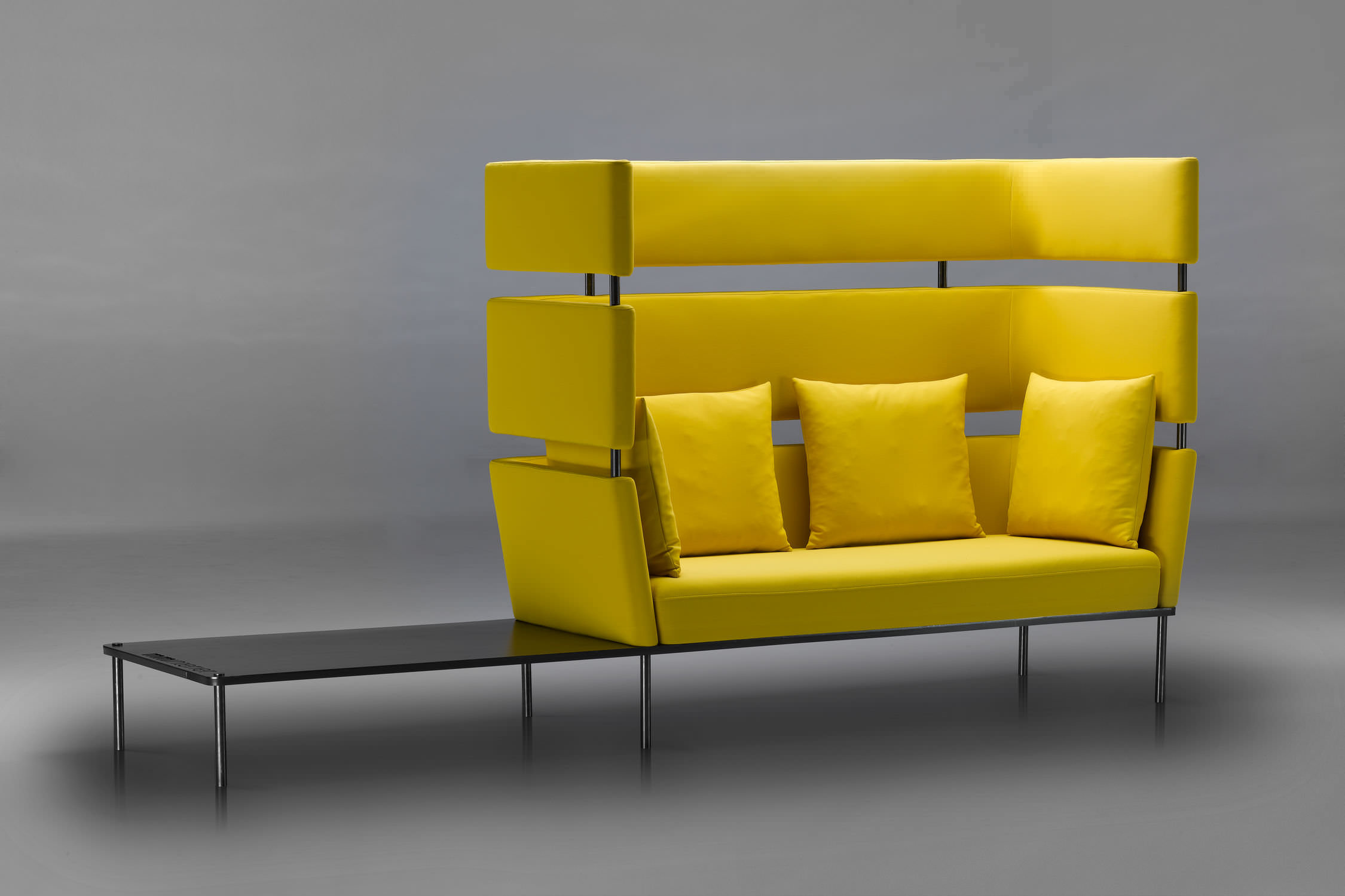 Modular Sofa Element Mminterier Contemporary Metal Wooden
