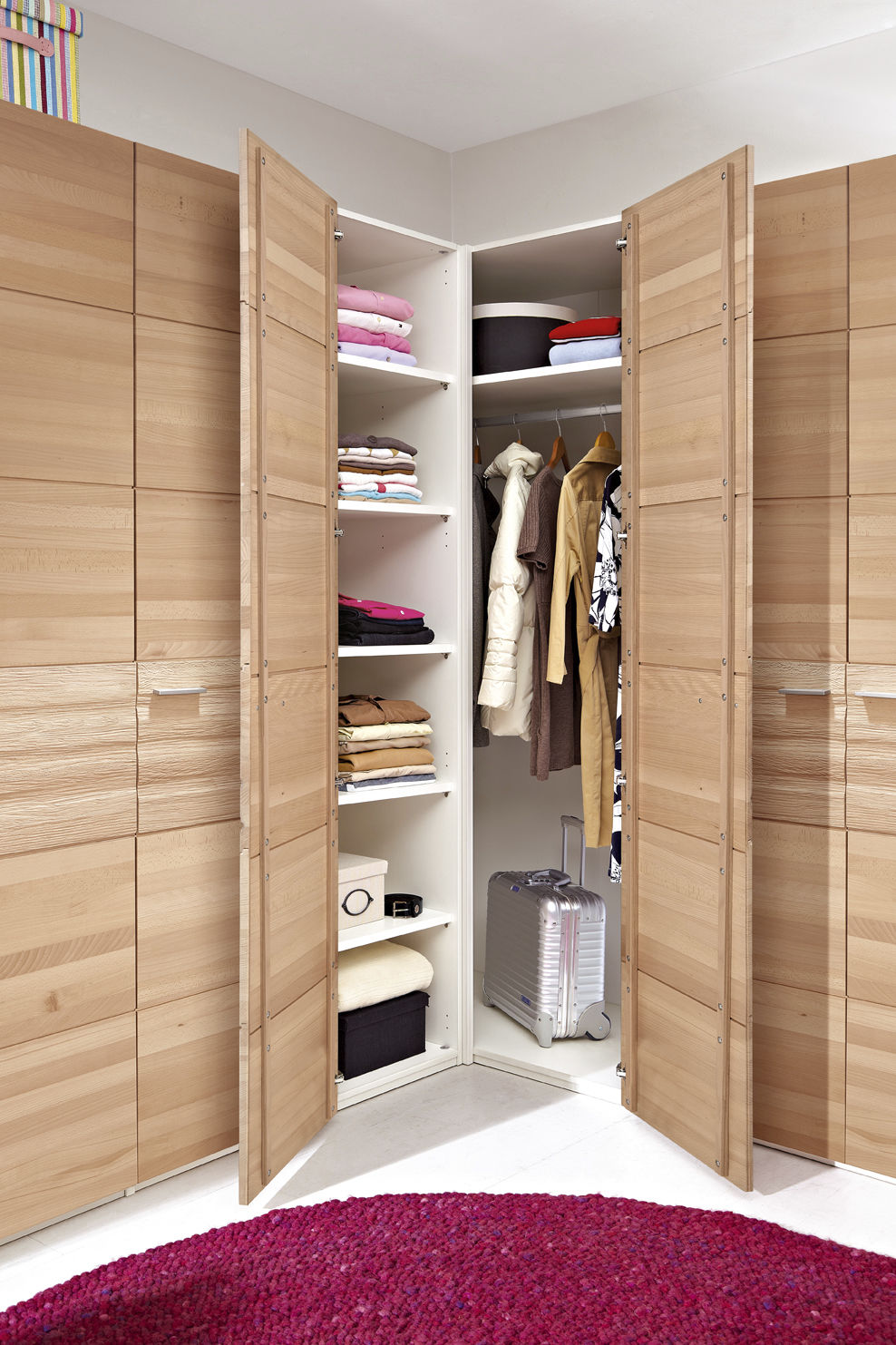 Corner Wardrobe Corner Wardrobe Contemporary Wooden With Swing Doors