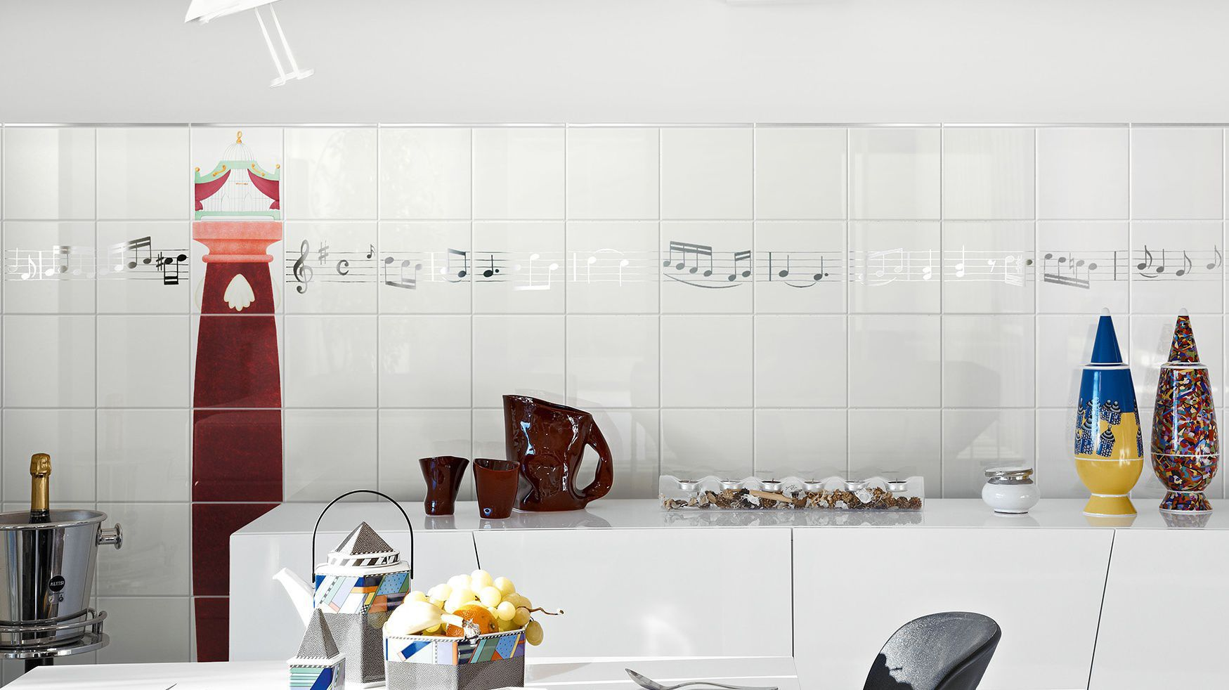 Ceramica Bardelli Indoor Tile Kitchen Wall Ceramic Preludio By Davide