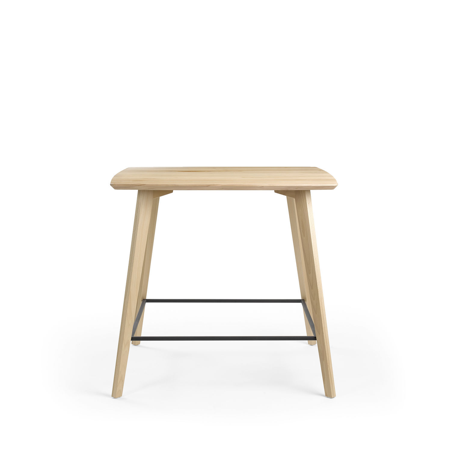 Bar Table Haute Contemporary High Bar Table Solid Wood Melamine Hpl Mood