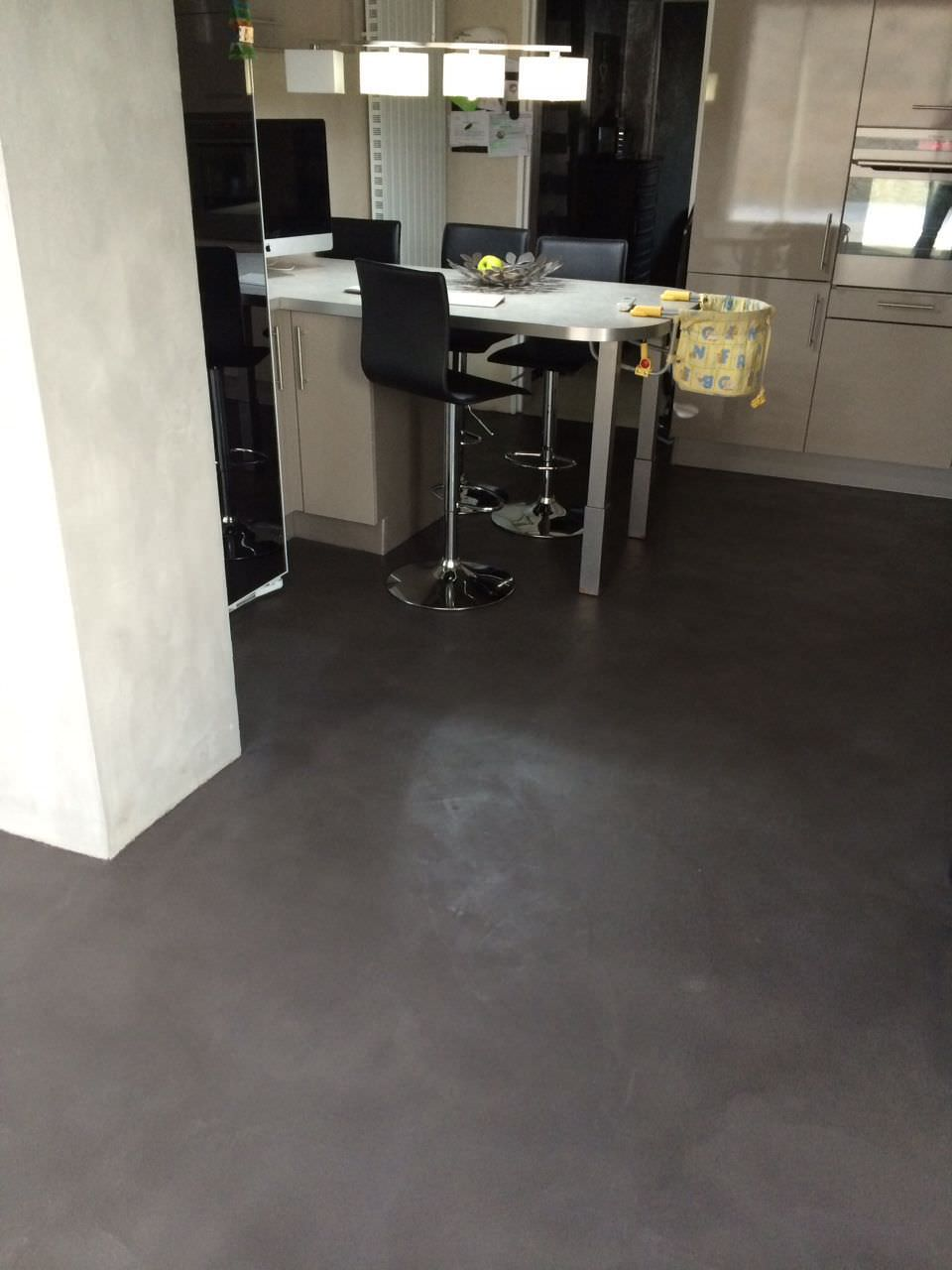 Bodenbelag Betonoptik Concrete Flooring Tertiary Other Formats Smooth Rouviere