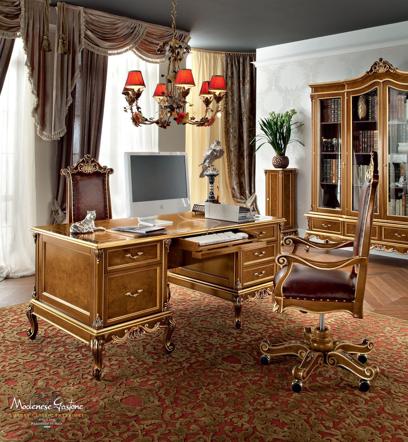 Classic Table Office Wooden Desk Classic Casanova Modenese Interiors Luxury Furniture