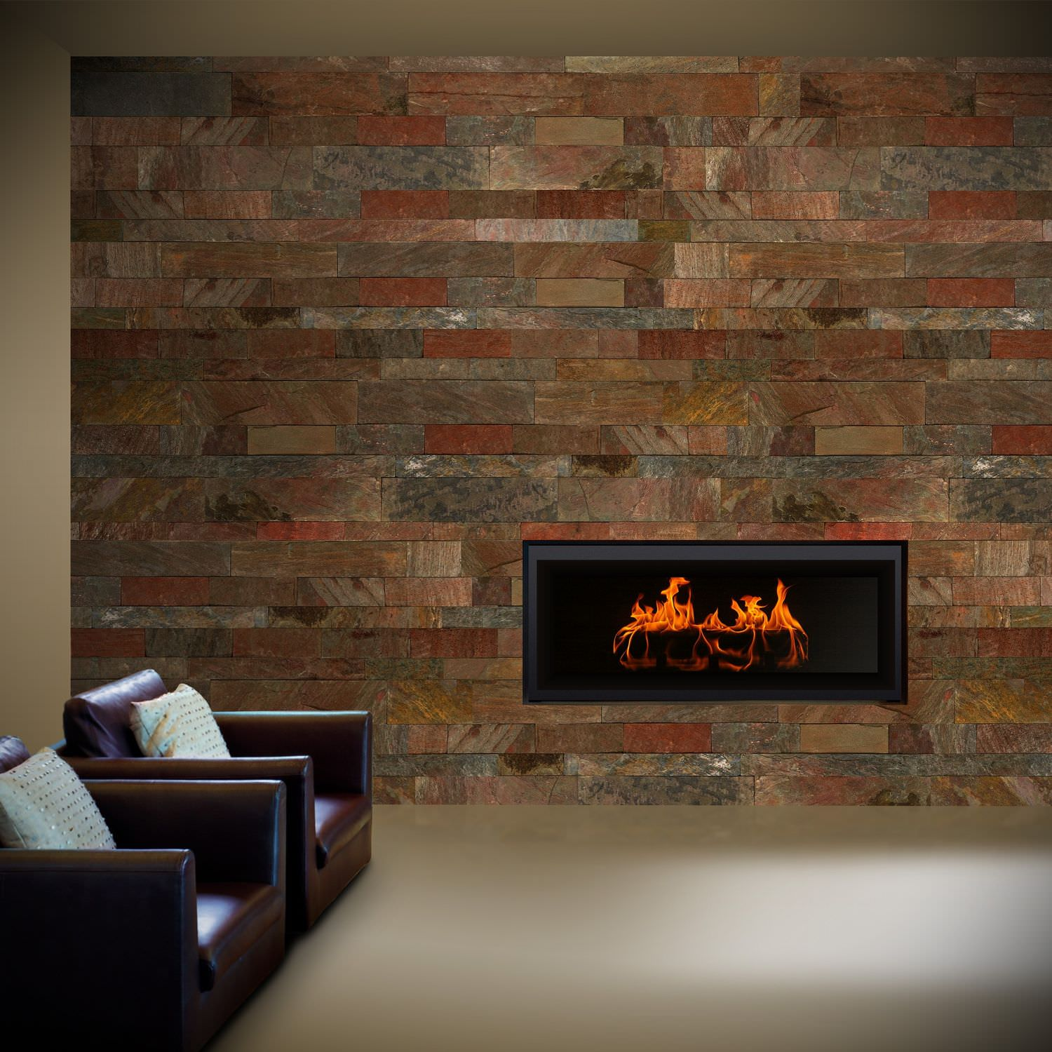 Wall Tiles Designs For Living Room Indoor Tile Living Room Wall Slate Copper Val Tile
