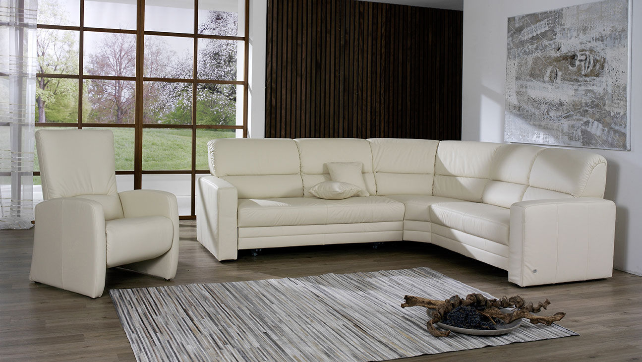 Couch Polstermöbel Modular Sofa Corner Bed Contemporary Tangram 9482