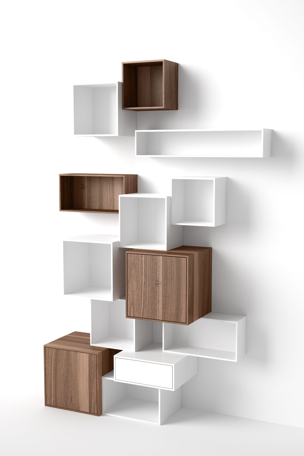 Regalwürfel Weiß Modular Shelf Contemporary Mdf Commercial Regal Weiß