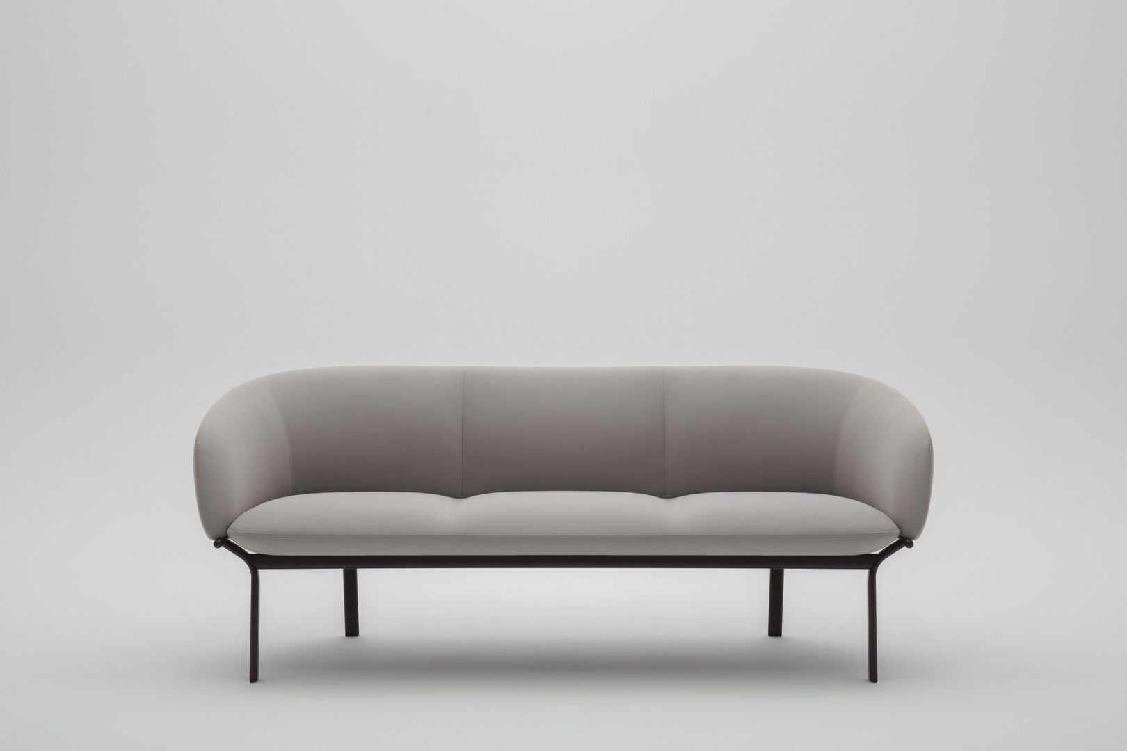 Sofa Grace Compact Sofa Contemporary Fabric Powder Coated Steel Grace
