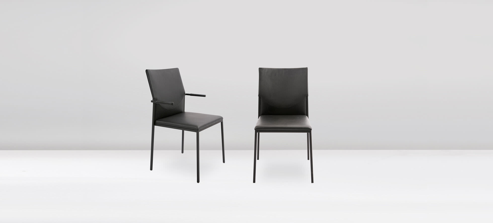Kff Mexico Contemporary Chair Upholstered Stackable With Armrests