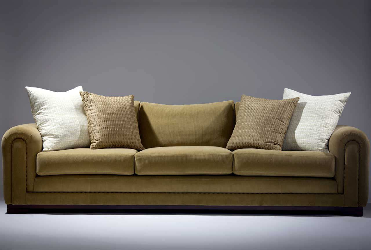 Sofa Fabric Traditional Sofa Fabric 3 Seater Brown Cheswick Orior By