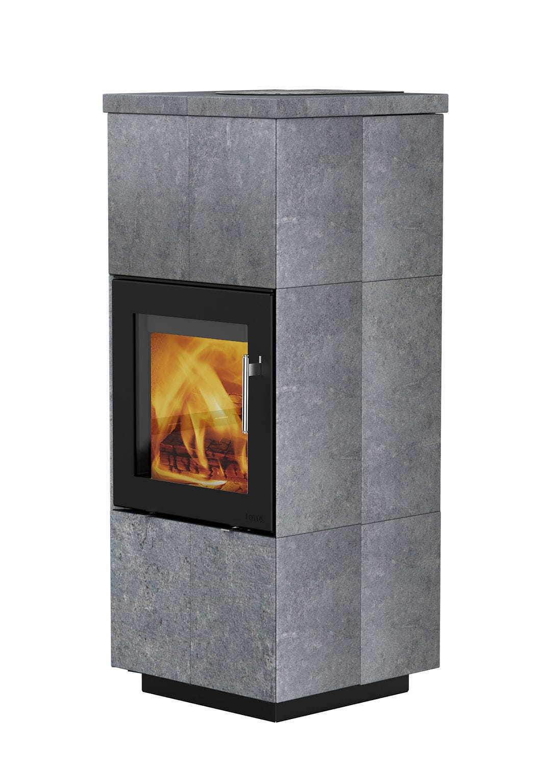 Lotus Kaminofen Style Wood Heating Stove Contemporary Stone Qm Lotus Heating