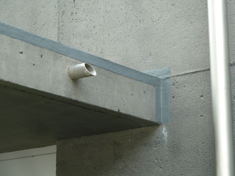 Insulated concrete / wall - CIS - MISAPOR - Concrete Wall Insulation