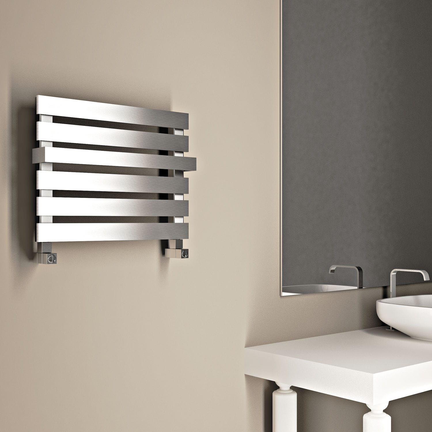 Bad Design Heizkörper Electric Radiator Metal Contemporary Bathroom Miya