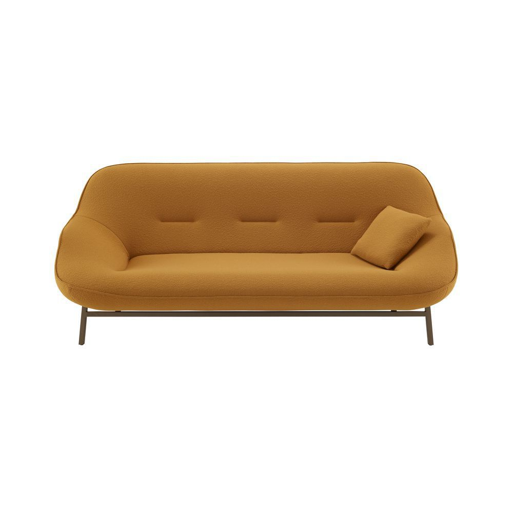 Contemporary Sofa Cosse Cinna Fabric Beech Bronze