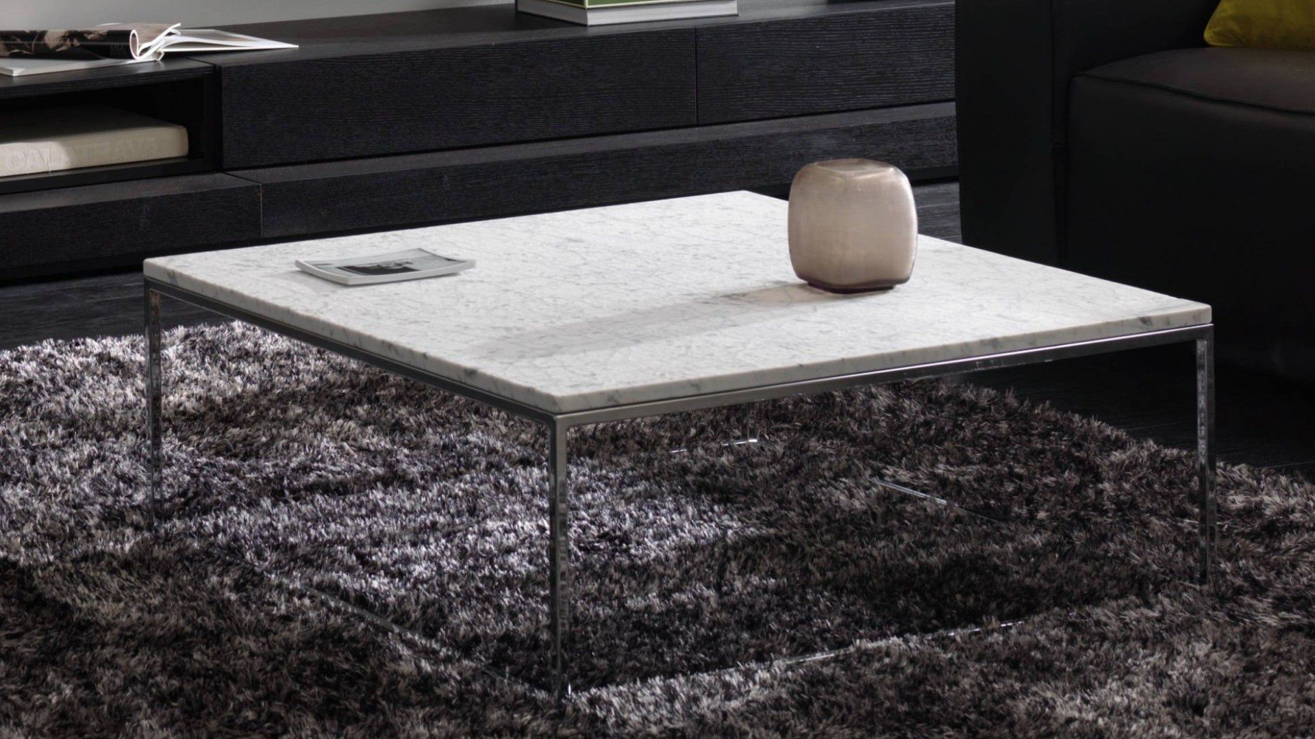 Natuzzi Couchtisch Glas Contemporary Coffee Table Wooden Metal Marble Cabaret