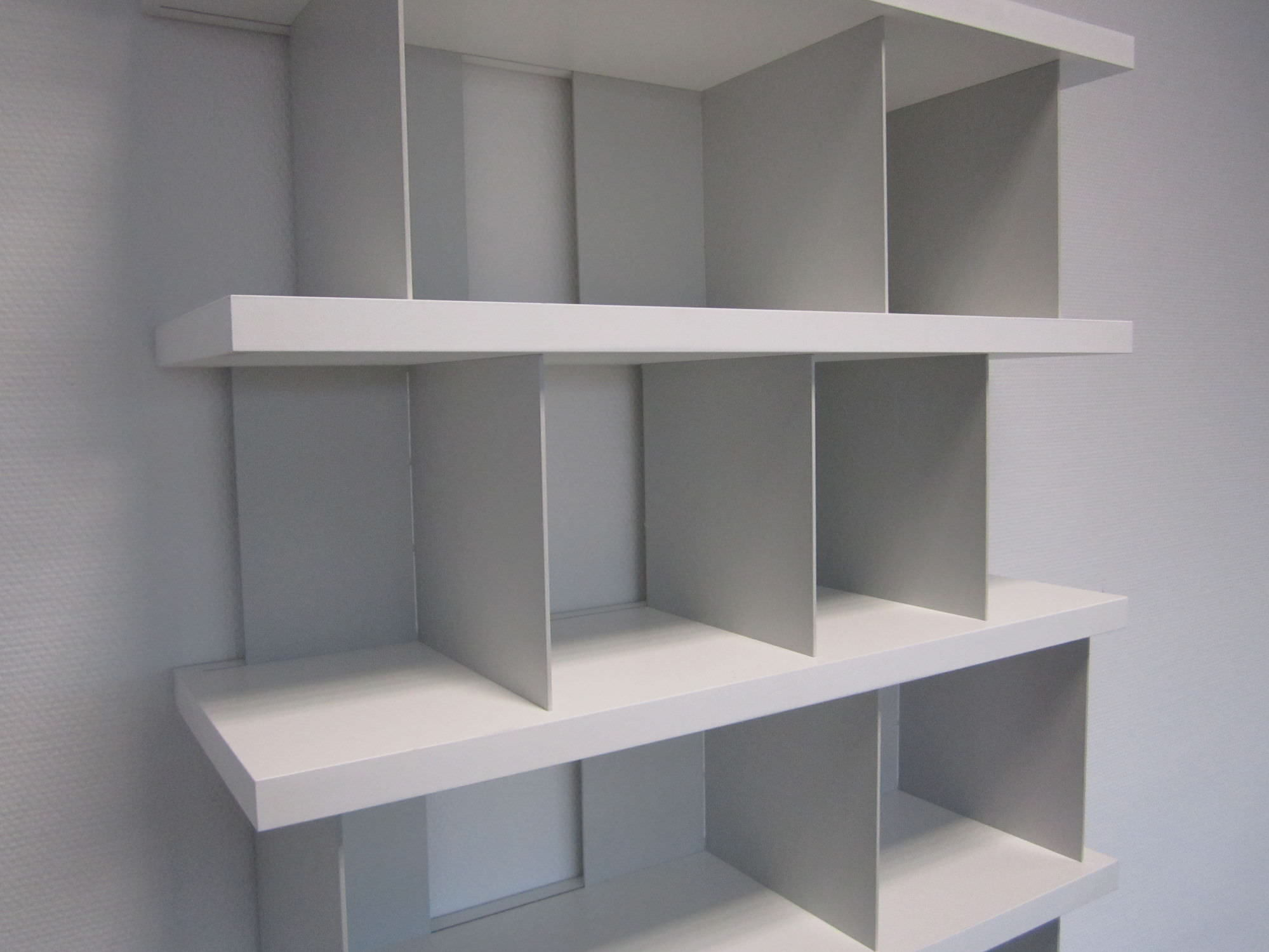 Bücherregal Modular Modular Shelf Contemporary Mdf Bieg By Eigenwert Tojo
