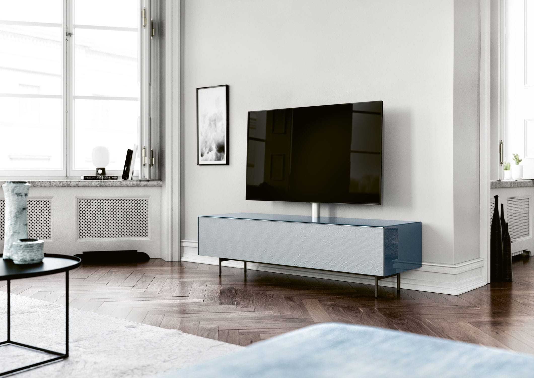 Spectral Scala Contemporary Tv Cabinet With Integrated Iphone Ipod
